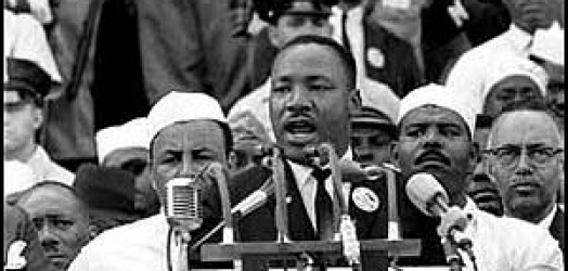 Martin Luther King, Jr. I Have a Dream speech delivered 28 August 1963, at the Lincoln Memorial, Washington D.C.